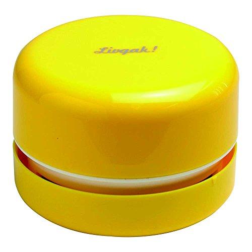 ソニック 卓上掃除機(乾電池式) リビガク スージー イエロー LV-1845-Y