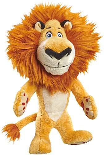 Schmidt Spiele- DreamWorks Madagascar - Peluche (25 cm), diseño de león, Color carbón (42706)