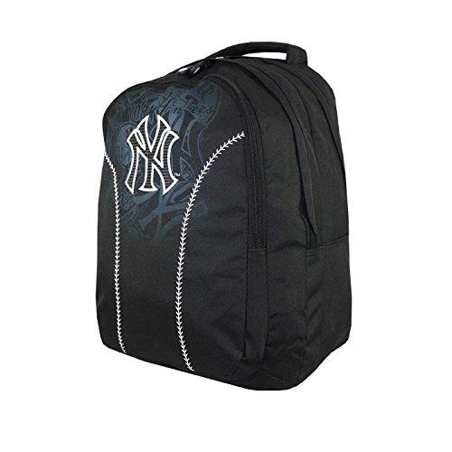 New York Yankees New York Yankees-Rucksack, schwarz, 45 CM, 2 cpt