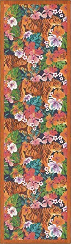 ekelund tischläufer tischdecke tigra 35 x 120 cm 100% bio-baumwolle