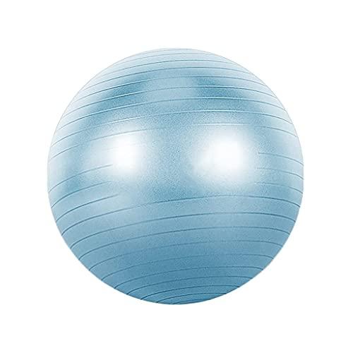 Pelota de Yoga de 55/65/75 cm, Entrenamiento de integración de sentidos, Bola de Equilibrio de Seguridad Ambiental a Prueba de explosiones Engrosada para el Parto