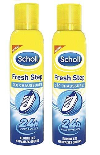 Scholl Déodorant Chaussures Anti-Odeurs 150 ml - Lot de 2