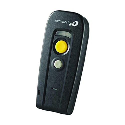 Leitor de Codigo de Barras CCD Bematech LONG RANG BR-200 BT USB Preto S/Fio - T03100010