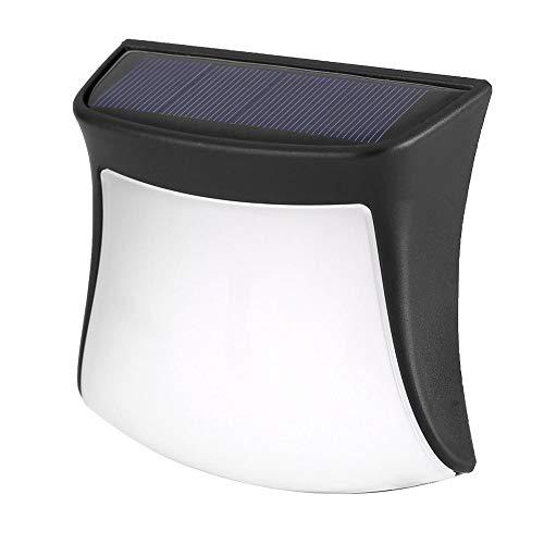 Luci Solari con Sensore Movimento LED Luce Muro Lampada Energia Solare per Esterni Impermeabile Luce Sicurezza per Terrazza Ponte Giardino Sentiero Co
