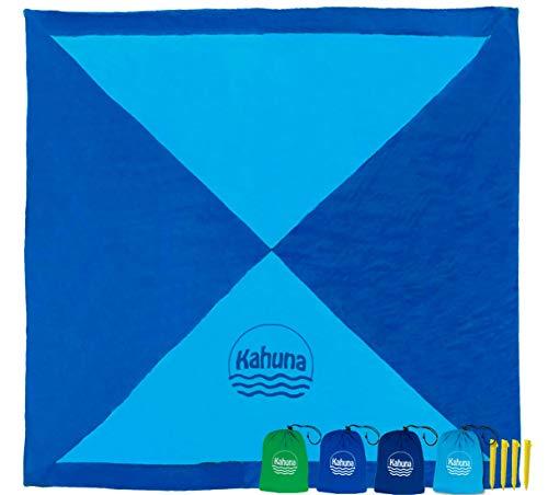 Kahuna Parachute Beach Blanket - Picnic Blanket - Outdoor Blanket - Beach Accessories - No Sand Beach Sheet (Extra Large...