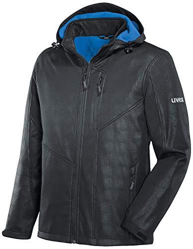 Uvex 9890 Mens Softshell Jacket - Chaqueta para el tiempo y la lluvia