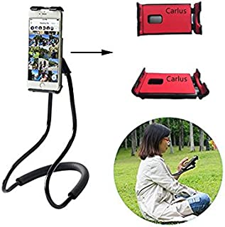 Lazy Neck Phone Holder Flexible Cell Phone Holder Bed Stand Long Arm Lazy Bracket DIY Free Rotating Stand with Multiple Fu...