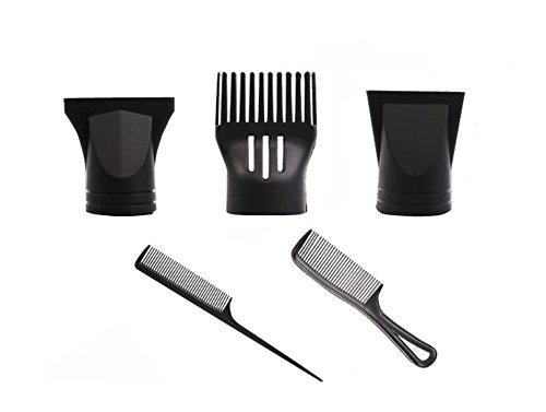 1 juego (5 piezas) portátil multifunción moda de plástico de repuesto para secador de pelo plano