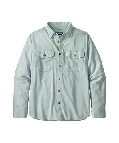 Patagonia M's L/S Cayo Long II Hemd, Herren XL Chambray: großes Himmelblau