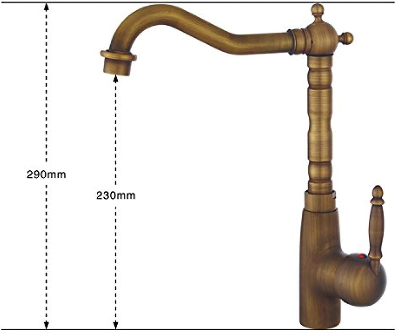 SHLONG Europische antike Wasserhahn ausziehbare Toilette Wasserhahn Kupferdraht über Zhler Becken Wasserhahn