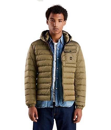 RefrigiWear Hunter/1 Jacket Giacca Sportiva, Grigio (Grigio Medio G04892), Large (Taglia Produttore:L) Uomo