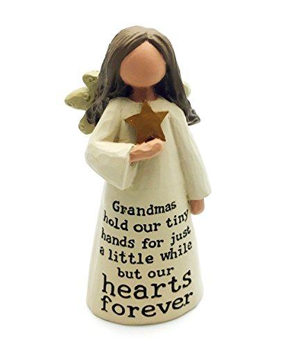 Beautiful Crafted Grandma Angel Sentiment Decoration Gif