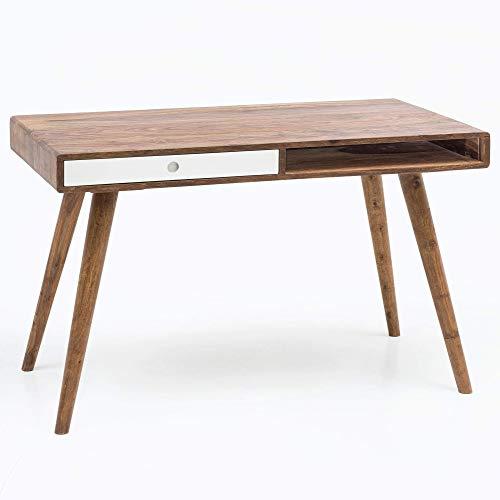 Wohnling Schreibtisch Repa, weiß, 120 x 60 x 75 cm