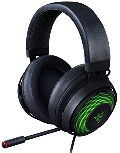 Razer Kraken Ultimate 7.1 Gaming Headset USB THX 7.1 Chroma Cooling Gel Pad Noise Cancelling Microphone PC PS4 PS5 Switch RZ04-03180100-R3M1