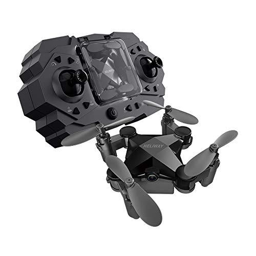 ZWBTY Luchtfoto Drone, Kleine Model Afstandsbediening Vliegtuigen, Mini Vouwen Quadcopter, Jongen Speelgoed, Kan worden bestuurd door mobiele telefoon, Eenvoudige bediening, Kinderspeelgoed