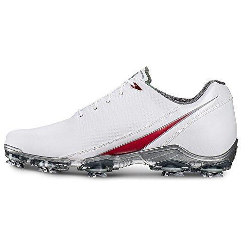FootJoy Men's D.N.A-Previous Season Style Golf Shoes White 13 M Red, US