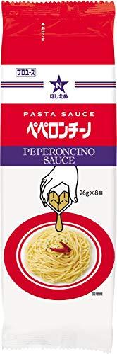 ほしえぬ パスタソース ペペロンチーノ(ディスペンパック) 26g×8個×4個