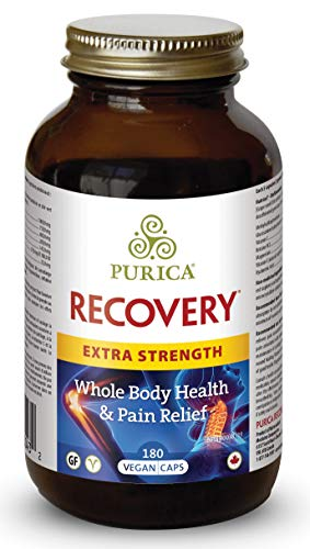 PURICA Recovery Extra Strength, 180 Vegan Caps - Whole Body Health & Pain Relief