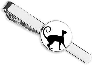 ربطة عنق على شكل حرف T من Pet Lover Black Cat Animal Art