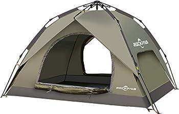 Rockpals Pop Up Light Weight Portable Instant Set-up Tent