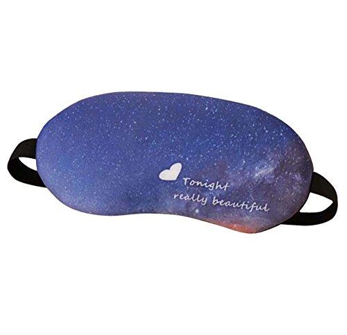 Modèles de voyage Eye Mask Personality Eyeshade Respirant Aid-sleeping-D