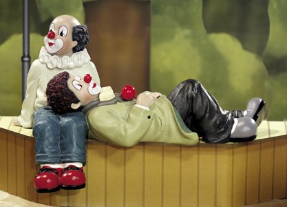 Gilde-Clowns Clown Mundraub