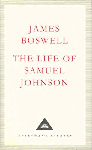 The Life Of Samuel Johnson: James Boswell