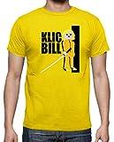 Camiseta de Hombre Click Kill Bill Tarantino playmobil 2XL