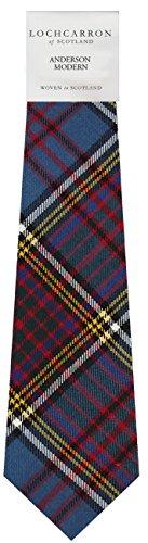 Anderson Tartan (Moderne) Scottish Pure laine souple, lien des hommes