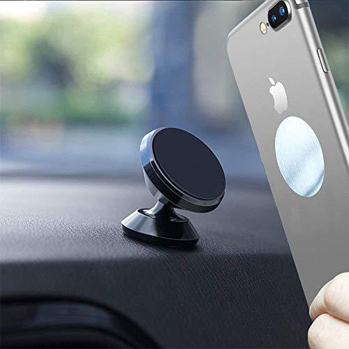 Universal Handyhalterung Auto Magnet, Handyhalter fürs Auto Magnet handyhalterung Auto Autohalterung Autotelefonhalter KFZ Armaturenbrett für iPhone X 8 7 6s 6 Plus 5s Samsung S8 S7 S6 Huawei HTC