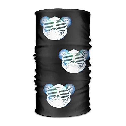 NA Bandana Hoofdband Atletische Cool Panda Multifunctionele Magic Handsjaal, Gezichtsmasker, Neck Gaiter, Balaclava, Sweatband, Hoofd Wrap, Outdoor Sport UV-bestendigheid.