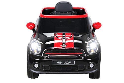 RC Auto kaufen Kinderauto Bild 2: Actionbikes Motors Kinder Elektro Auto Mini Cooper Paceman John Cooper Works Kinderauto Elektroauto Lizenziert 2 x 45 Watt Motor (Schwarz)*