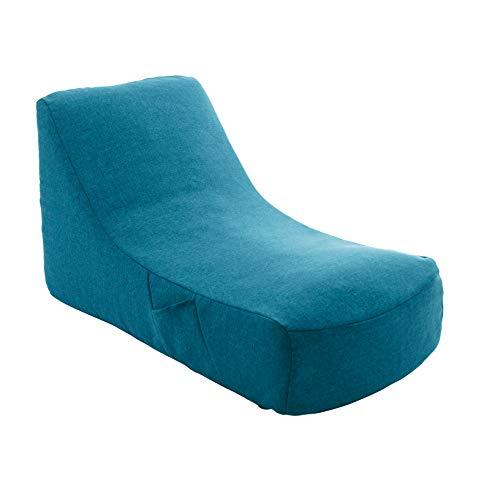 セルタン 日本製 カバーが洗える 圧縮 座椅子 タスクターコイズブルー 和楽のため息 収納ポケット付 A911a-585BL