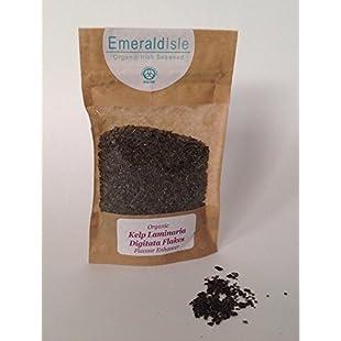 Emerald Isle Seaweed Organic Flakes Granules Herbs, Kombu, Salt replacement, Flavour Enhancer (Kelp Kombu):Kumagai-yutaka