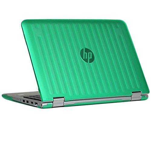 "mCover Verde Carcasa Dura/Fundas duras SÓLO para portátil de 13,3"" HP Pavilion x360 Serie 13-uxxx Portátil (Modelo: Serie 13-uxxx)"