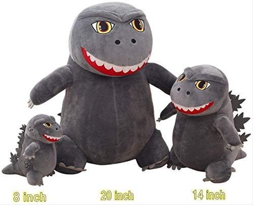 Godzilla Q Version Plüsch Tierpuppe Puppe Kissen Geburtstagsgeschenk kleine Maus Dekoration Requisiten