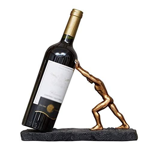 NXYJD Estante Moderno Minimalista del Vino, Estante del Vino hogar Creativo decoración del Arte de la decoración de la Sala de Estar gabinete del Vino