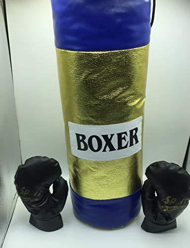 GYN Boxset mit Handschuhen und Fußsack für Kinder, ab 3 Jahren, Geschenkidee, goldfarben, 55 x 20 cm