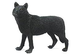Safari Ltd. Wildlife Wonders: Black Wolf