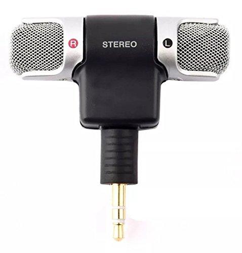 Microfone Mini Stéreo P2 Celular Android Iphone Câmera