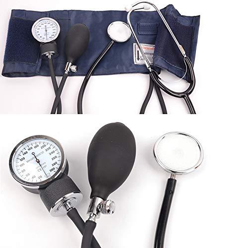 SSB-TZQ, Manual aneroide Monitor de presión Arterial medidor tonómetro Manguito Medida de Dispositivos médicos con el Estetoscopio Inicio