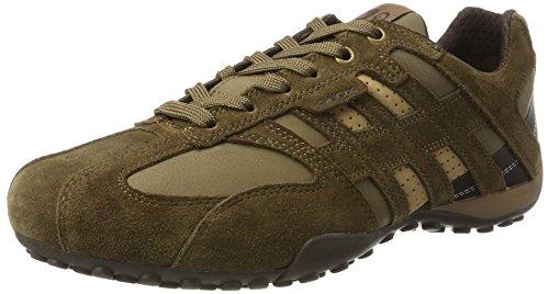 Geox Herren Uomo Snake K Sneaker, Braun (Brown), 39 EU (6 UK)