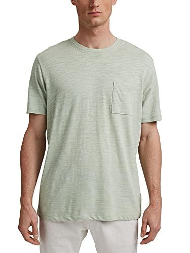Esprit 041EE2K320 Camiseta, 340/PASTEL Green, M para Hombre