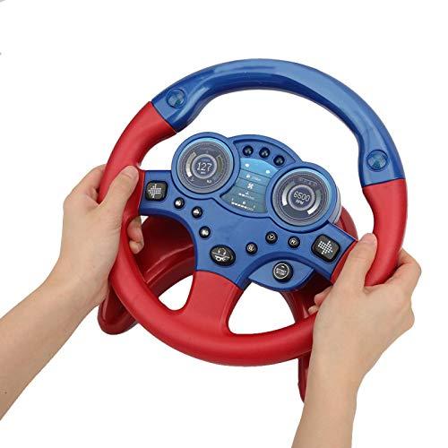 WNSC Juguete para Volante De Conducción, Juguete De Simulación para Asiento De...