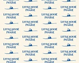 Little House on the Prairie Blue Logo A 7982 B from Andover