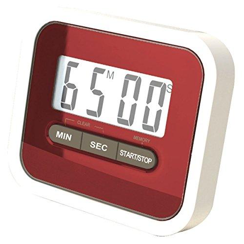 Demarkt Digitaler Küchentimer Magnetisch Kurzzeitmesser küche Elektronischer Timer und Stoppuhr Klingelt laut Geeignet für Familien und Restaurants Verwendet