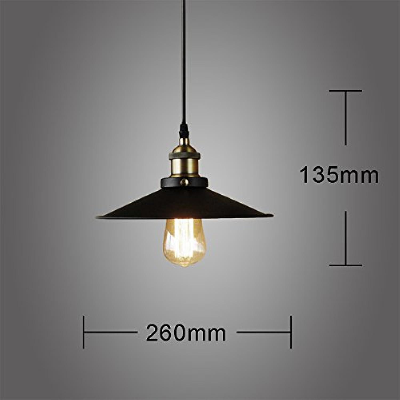 Luckyfree Kreative Moderne Mode Anhnger Leuchten Deckenleuchte Kronleuchter Schlafzimmer Wohnzimmer Küche, Schwarz -Tb87 Birne
