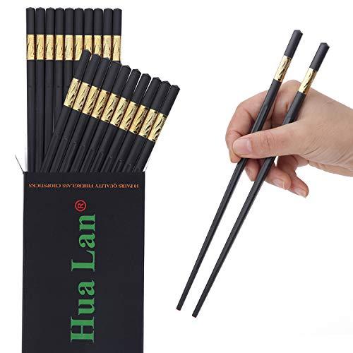 镶金边玻璃纤维筷子 10双