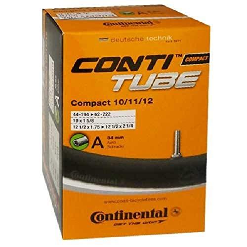Continental Compact - Cámara de Aire (10/11/12) Negro a Talla:44/62-194/222