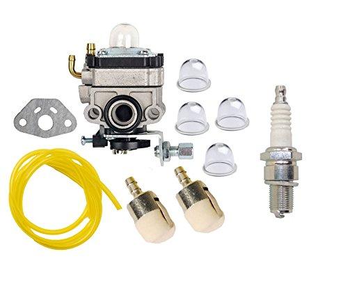 OuyFilters Vergaser Carb Kit mit Primerpumpe Fuel Line Filter für Honda GX22GX31FG100Mantis Gartenfräse Rasentrimmer Brush Cutter